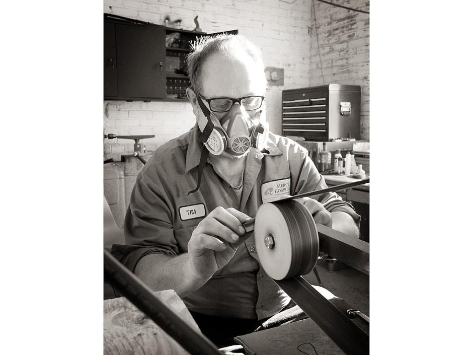 Tim grinding